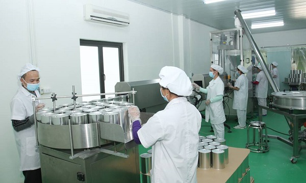 Quy trình sản xuất sữa bột Babego