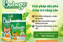 Sữa Babego là sản phẩm toàn diện