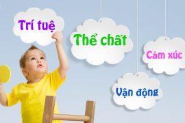 Trẻ phát triển toàn diện