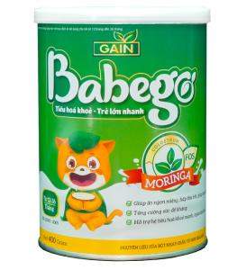 Sữa thảo dược chùm ngây Babego 12-36M 800g