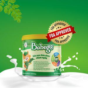 Sữa non thảo dược chùm ngây Babego