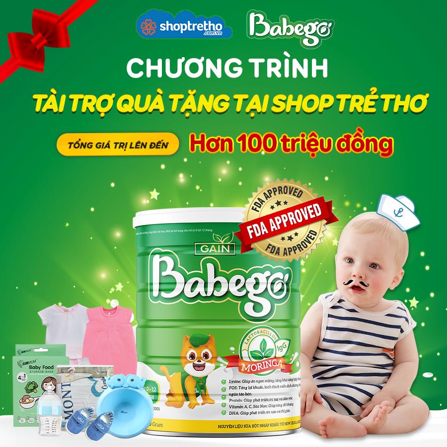 Babego hợp tác với Shop trẻ thơ